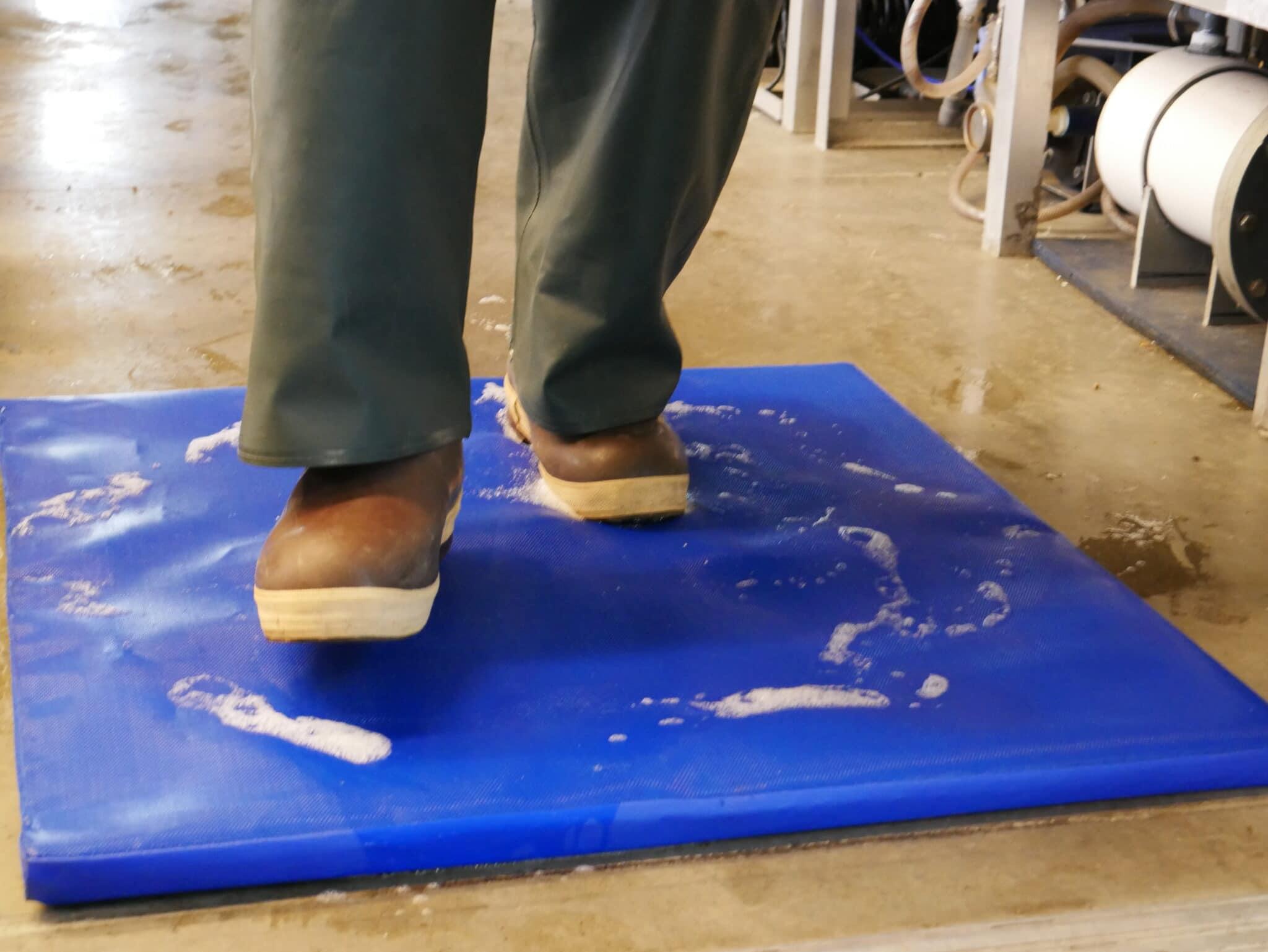 Foam Biosecurity Footbath Boot Disinfection Sanitizing Footmat Syndel